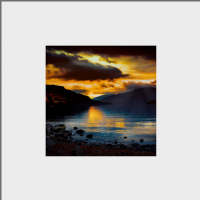 Loch Lomond Mounted Print AS_36_MM